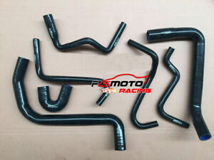 BLACK-Silicone-Radiator-Hose-for-Holden-Commodore-VT-VX-3-8L-V6-1997-2002-01-00