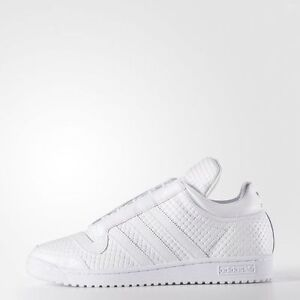 wholesale dealer d417a bed24 Image is loading NIB-MENS-ADIDAS-TOP-TEN-MID-PC-WHITE-