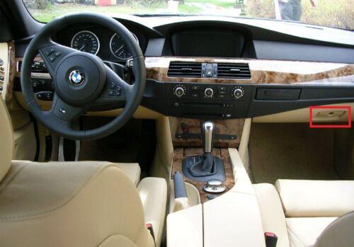 BMW NEW GENUINE 5 SERIES E60 E61 OUTER GLOVE BOX LATCH HANDLE BEIGE 7063510