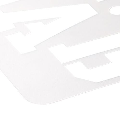 Prym Schablonen für Alphabet sortiert 13-teiliges Schablonen-Set 611143