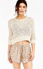 NWT Faithful The Brand Drapey Cheetah Shorts Size Medium Free People