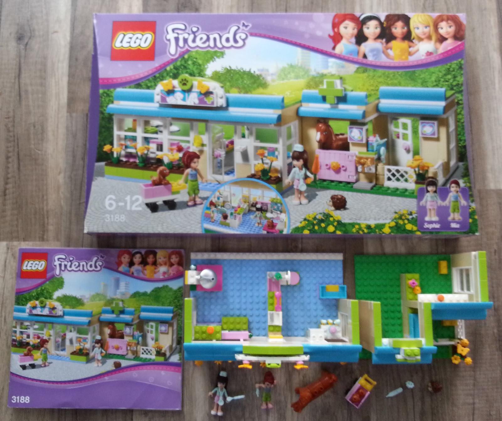 Lego Friends Friends Friends Tierarzt Praxis Tierklinik (3188) OVP mit Bauanleitung 8e1ae1