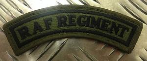 Genuine-British-Army-RAF-ROYAL-AIR-FORCE-REGIMENT-OD-Shoulder-Patch-NEW