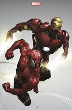 CLAYTON CRAIN SPIDER-MAN IRON MAN FRENCH VARIANT COVER 1500 OOP