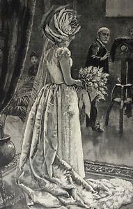 Original-antique-surrealist-collage-Tolli-La-Sposa-Mori-wedding-Serrano-dress