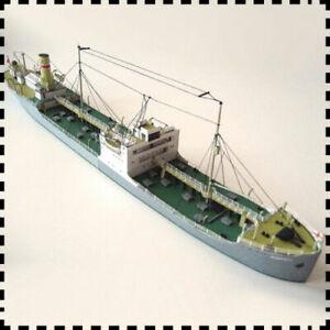 1-400-Scale-Poland-Tanker-Karpaty-Ship-3D-Paper-Model-Kit-DIY-Handcraft
