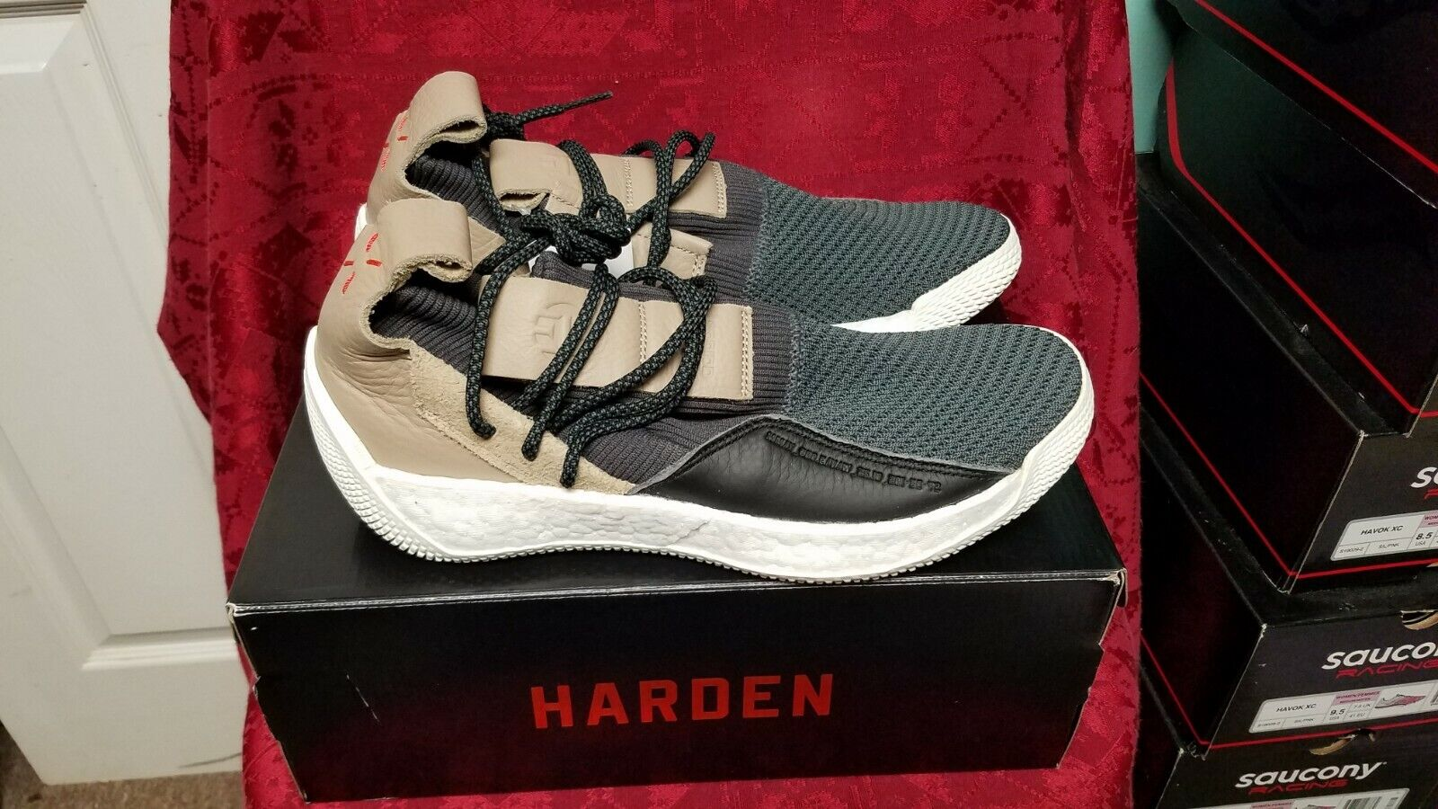 ADIDAS  MENS  HARDEN LS 2 LACE  BASKETBALL SNEAKERS   SIZE 12