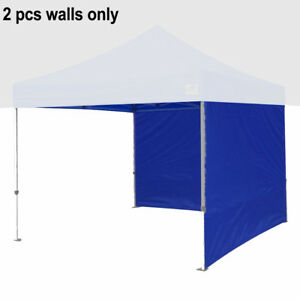 2PCS 10Ft Side Walls Zipper Panel End Walls For Pop Up Fair Canopy Gazebo Tent