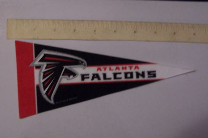 Atlanta Falcons NFL NFC Football Team Logo Mini Pennant