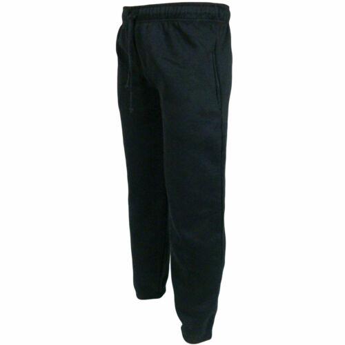 New Men/'s Heavy Fleece Tracksuit   Jogging Bottom Gym Sweat Jogger Pants