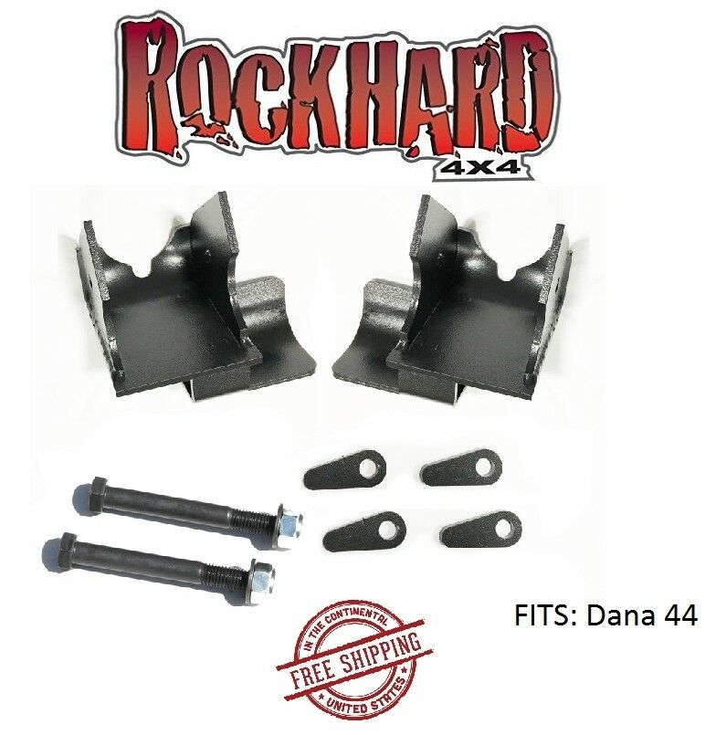 Front And Rear Bolt On Lower Control Arm Skid Plate for Jeep Wrangler Rock Hard