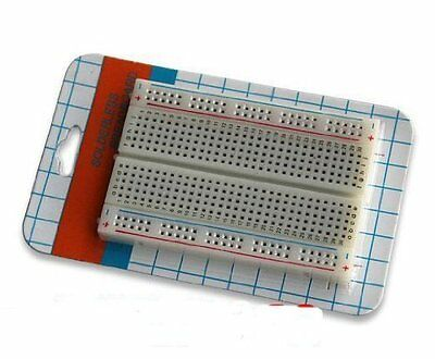 Mini Solderless Breadboard Bread Board 400 Contacts Available Test Develop DIY