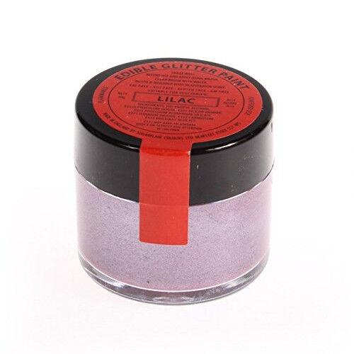 20 x Sugarflair 20g LILAC Edible Glitter Paint Cake Icing Sugarpaste Decorating