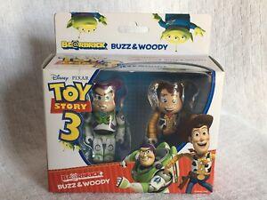 Medicom Bearbrick Be @ rbrick 100% Toy Story 3: Woody Buzz Lightyear 4530956302461