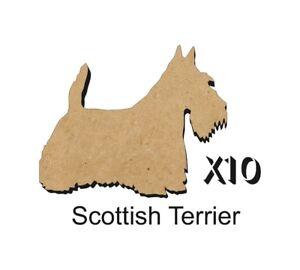 10 Scottish Terrier MDF découpes Porte-clés-enjoliver 5 Tailles Sans Trou dogw 005-ishing 5 Sizes FREE Hole DOGW005afficher le titre d`origine avTDzj0k-07202836-433861282