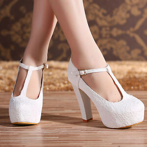 Princess-Hollow-High-Heels-Party-Dress-Lace-Wedding-Shoes-For-Bride-Comfort