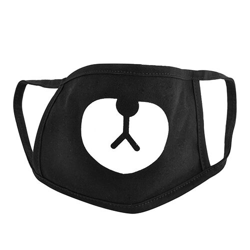 QA/_ Unisex Men Bear Cotton Fashion Mouth Face Masks Respirator for Cycling Ant