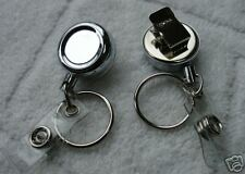 Mini Retractable Reel Key Id Badge Hold Belt Clip Chain