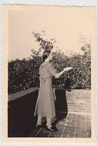 (f28093) Orig. Photo Jeune Femme Sur Un Balcon Dans Spiekeroog 1939-afficher Le Titre D'origine
