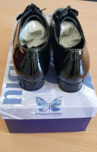 Di Black Eu Womens Julie Pinto Uk 5 38 black Oxfords Blu 01 q1Cdqgwa