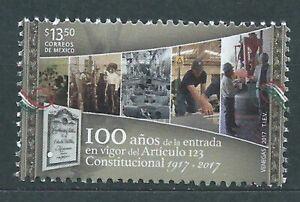 Mexico Mail 2017 Yvert 3040 MNH Item 123