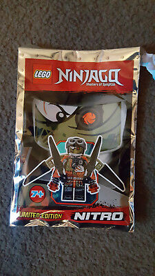 Talon foil pack 891841-1 Limited Edition Lego Ninjago Minifigure