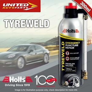 Holts Tyreweld Emergency Puncture Repair 300ML for small tyres up to 14""