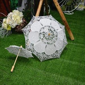 Women Fashion Lace Parasol Anti UV Sun Protection Clear//Rain Lolita Umbrella