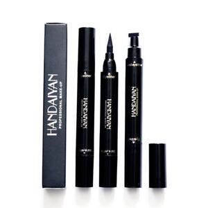 Winged-Eyeliner-Stamp-Waterproof-Makeup-Womens-Eye-Liner-Pencil-Black-Liquid-Hot