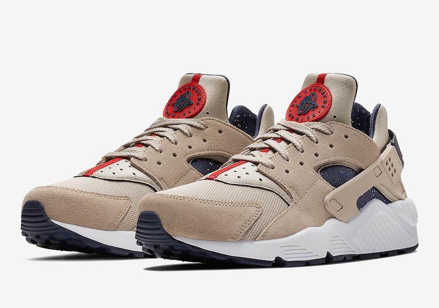 Nike air huarache 9,5 einen sz 9,5 huarache mond teilchen neutrale indigo aq0553-200 c08a34
