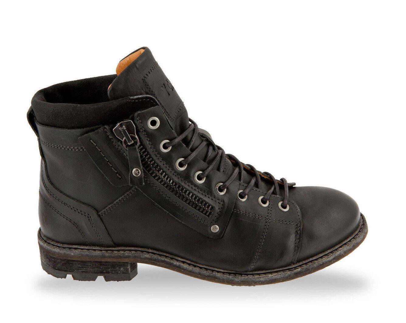 amarillo Cab zapatos caballero zapatos schnürzapatos botas Engine y15300 negro negro