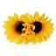 2PC-Women-Sunflower-Flower-Hair-Clip-Accessories-Barrette-Hawaiian-Wedding-Party thumbnail 3