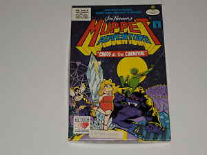 Muppet-Adventure-Chaos-at-the-Carnival-IBM-DOS-1989-Rare-Hi-Tech-Game