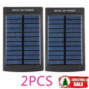 2X 50000mAh Dual USB Portable Solar Battery Charger Power Bank For Cell Phone BK