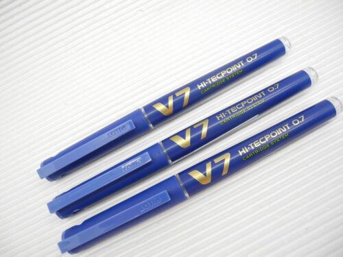 Pilot Hi-Tecpoint cartridge system for BXC-V7 15 Cartridges Pack Black
