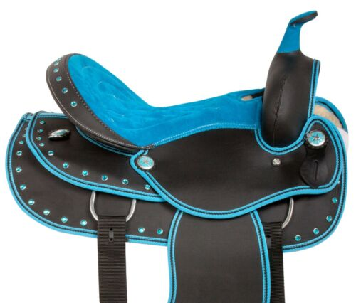 CUSTOM 15 16 17 WESTERN BARREL RACING TRAIL HORSE SADDLE TACK PAD