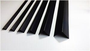 Pvc Winkel Schwarz 1 Meter Winkelprofile Kunststoffleiste