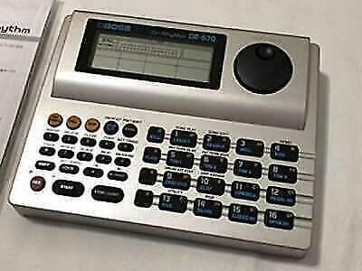 boss dr rhythm dr670 drum machine with psa120s power adapter for sale online ebay. Black Bedroom Furniture Sets. Home Design Ideas