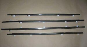 Weatherstrip Window Chrome Trim Glass Door Belt Rubber For