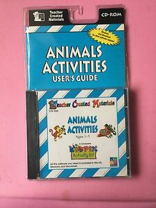 TEACHER-CREATED-MATERIALS-Animals-Activities-User-Guide-CD-ROM-Age-5-9