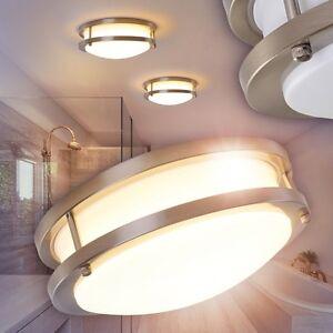 led runde deckenlampe badezimmer wc nassraum leuchten bade zimmer lampen ip44 ebay. Black Bedroom Furniture Sets. Home Design Ideas
