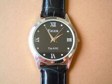 Eiger Typ A202 Armbanduhr mit schwarzem Band Batterie 25,6 g/ Ø 3,4 cm