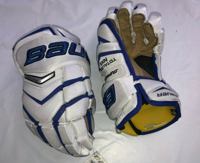 JUNIOR Bauer Supreme TotalOne NXG Gloves