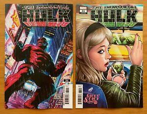 ALEX ROSS MAIN COVER MARVEL COMICS//2020 IMMORTAL HULK #31