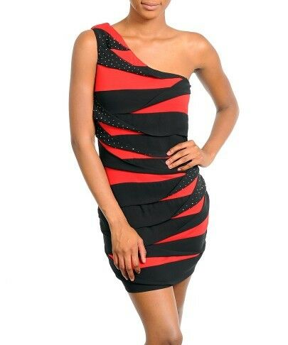 Black and Red Maxi  Dress