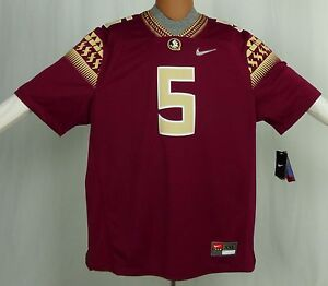 newest d4f80 f4394 Details about NEW Nike Florida State Seminoles FSU #5 DIAMOND QUEST LIMITED  JERSEY SIZE