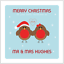 Personalised Your First Christmas Together Card Sister Brother in Law