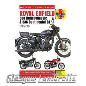 Haynes-Manual-6427-ROYAL-ENFIELD-Bullet-Classic-Continental-GT-2009-2018