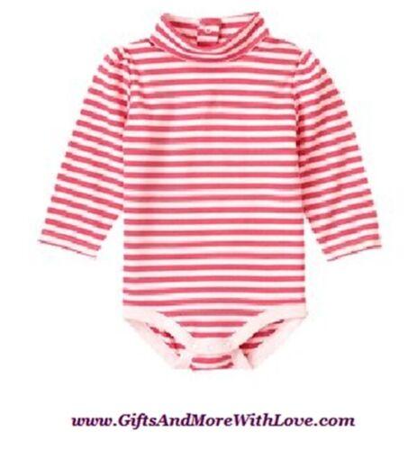 Gymboree NWT Pink Stripe MISCHIEVOUS MONKEY LS DRESS BODYSUIT TOP 3 6 9 12 Month