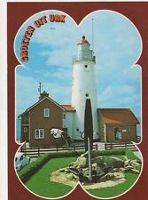 Urk Vuurtoren Netherlands Lighthouse Postcard 327a ^